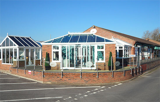 One of our conservatory showrooms
