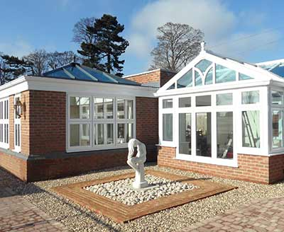 Our conservatory showroom in Thatcham, Nebury