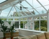 Internal photo of a combination conservatory
