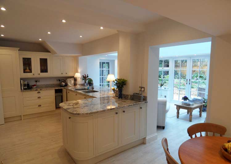 Kitchen Extensions In South England Oakley Green Conservatories