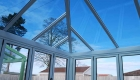 Glazed replacement conservatory roof