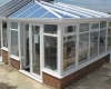 A gull wing conservatory demoed at our showroom