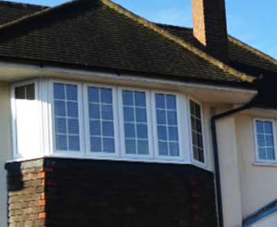 Double glazed house windows