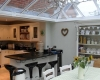 Kitchen conversion with quality kitchen and dining room