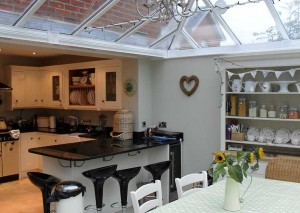 Kitchen orangery extension conversion with quality kitchen and dining room - expand your kitchen