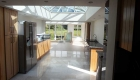 A large kitchen orangery extension conversion