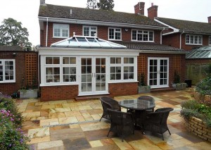 An external view of one of our kitchen conversions