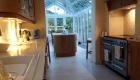 Kitchen/diner conversion with light conservatory