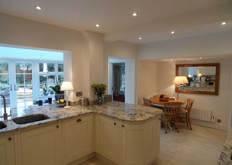 Open Plan Kitchen Living Cottage