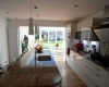 A kitchen conversion leading into a new orangery