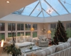 A large luxury orangery