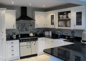 A modern kitchen in one of our kitchen conversions
