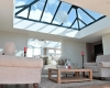 An orangery installation at one of our showrooms