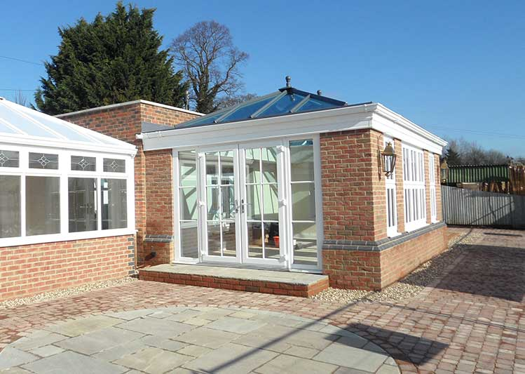 One of our orangeries at our showroom