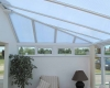 Polycarbonate replacement conservatory roof