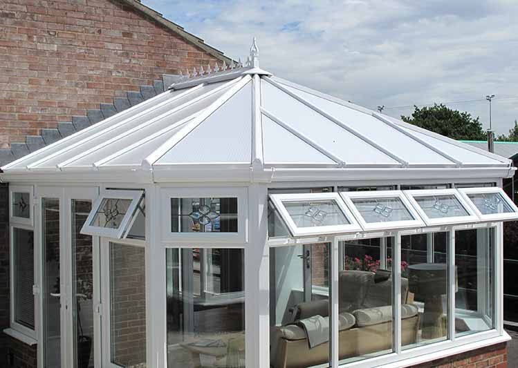 glass roof conservatories in south england oakley green. Black Bedroom Furniture Sets. Home Design Ideas