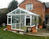 Regency conservatory leading onto patio