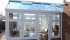 Replacement glass roof for conservatory
