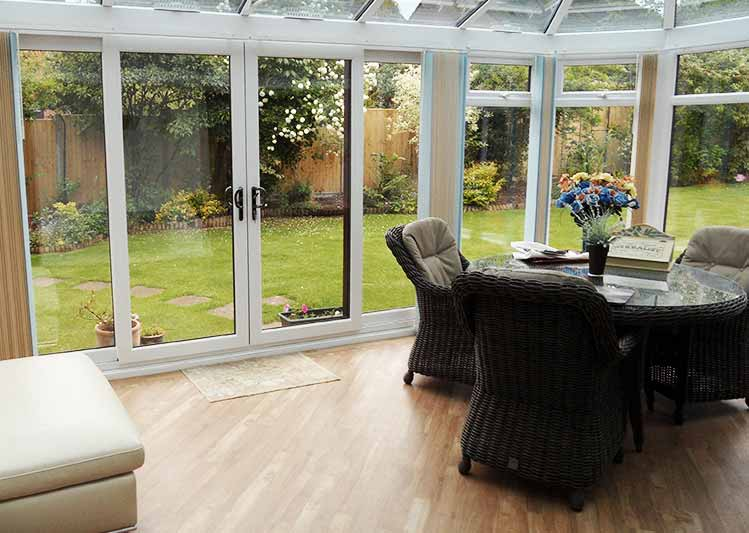 Conservatory installers in south england oakley green for Conservatory sliding doors