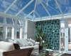 Solar control glass replacement conservatory roof