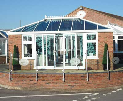 Our conservatory showroom in Thatcham, Newbury
