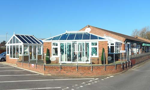 Our conservatory showroom in Thatcham