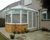 Victorian conservatory leading on to the patio