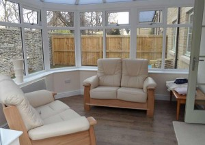 An internal view of one of our victorian conservatories- small conservatory ideas