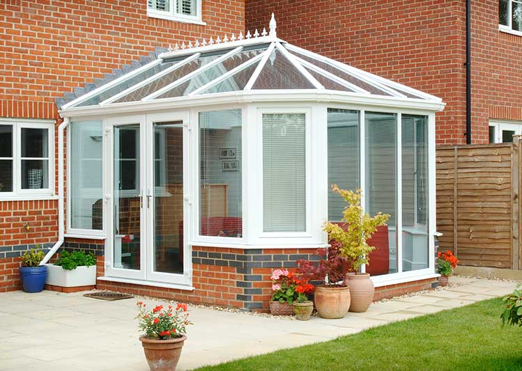 Home improvement gallery oakley green conservatories for Adding a conservatory
