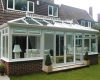A large rectangular Edwardian conservatory