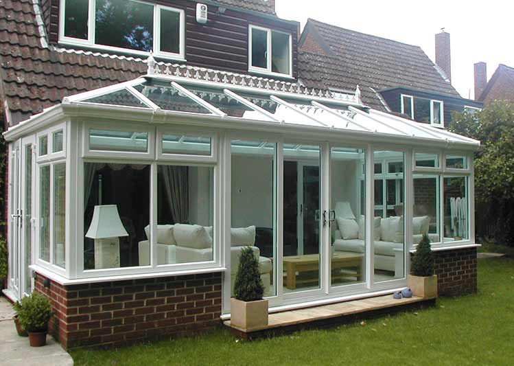Edwardian Conservatories In South England Oakley Green