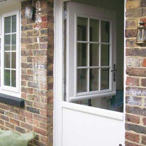 Beaumont timber look stable door