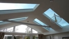orangery solid roof with skylights