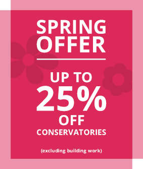 Oakley Green Spring Offer - up to 25% off Conservatories & Orangeries