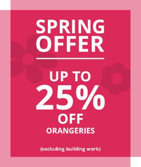 Orangeries Spring Offer