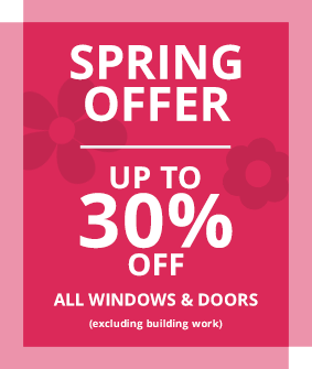 Oakley Green Spring Offer - up to 30% off all windows & doors