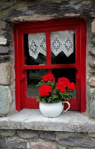 old timber window