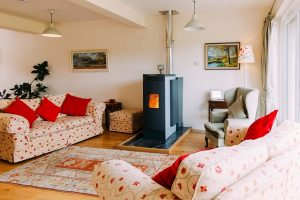 interior stove