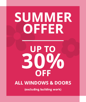 Oakley Green Summer Offer - up to 30% off all windows & doors