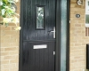 Black stable door