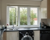 Flush sash kitchen
