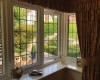 white upvc bay window interior