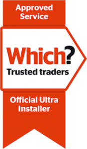 Which? trusted trader official Ultra installer