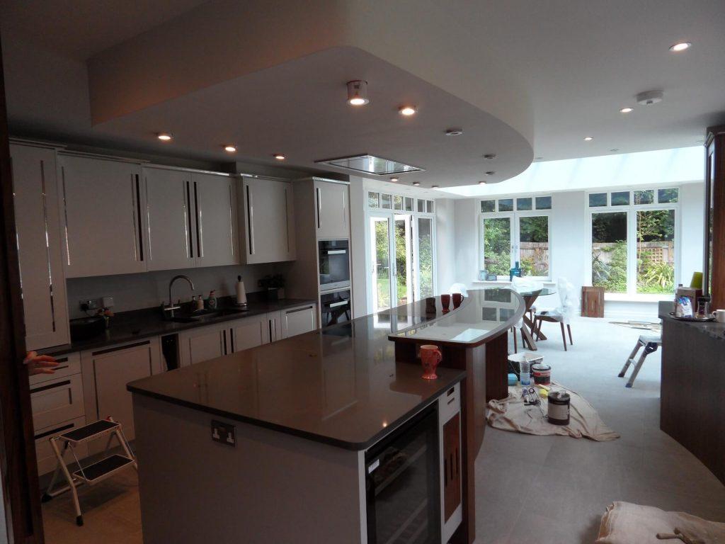 Kitchen Extension Interior