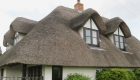 Thatched cottage window installation