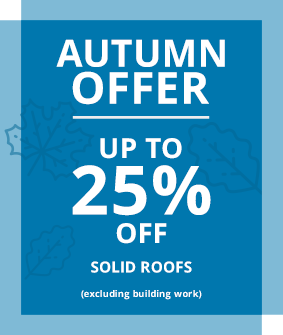 up to 25% off solid roofs