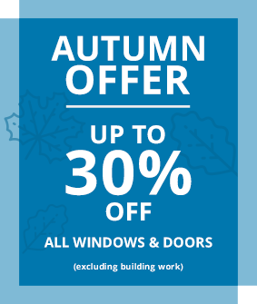 up to 30% off windows and doors