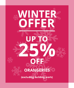 Oakley Green Winter Offer - up to 25% off Conservatories & Orangeries
